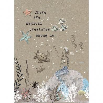 Magical Creatures Birthday Card