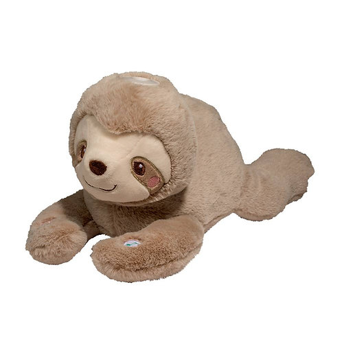 Brown sloth musical plush toy