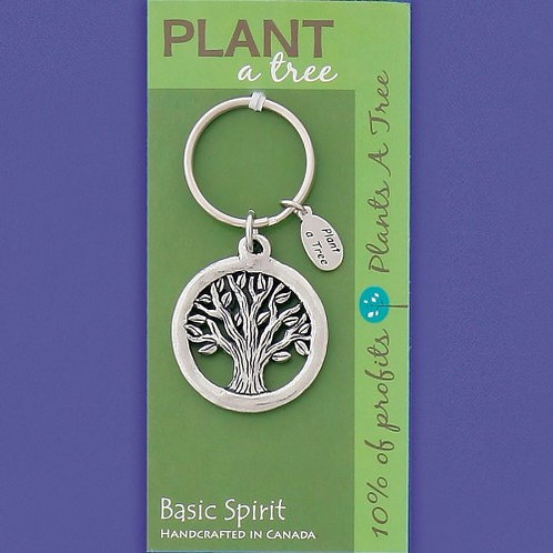 Global Giving Keychain - Plant a Tree