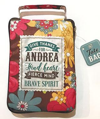 Andrea - Reusable Tote Bag