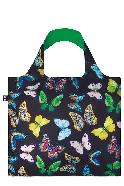Loqi Reusable Tote Bag - Butterflies