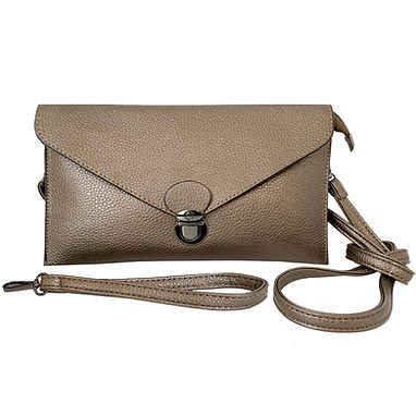 Bronze Indispensable Purse with Wristlet
