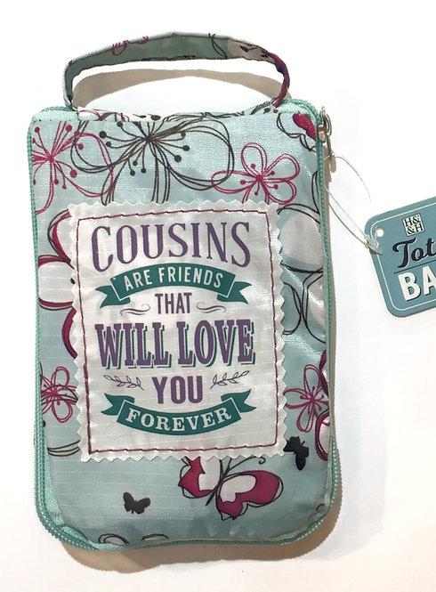 Cousins - Reusable Tote Bag