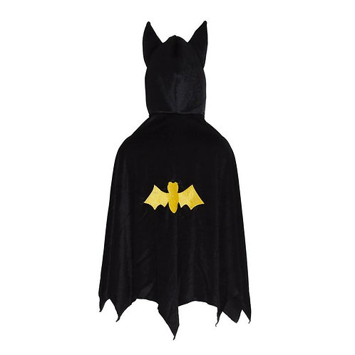 Great Pretenders Bat Cape with Hood back view