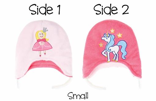 Flapjack Kids Reversible Hat - Princess / Unicorn