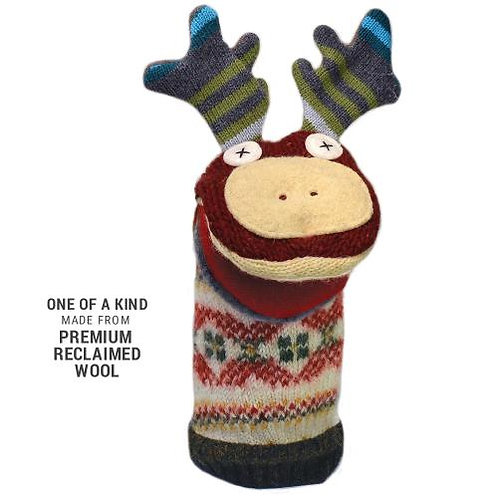 Woolly Moose Hand Puppet