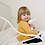 child with pale ivory Bamboo Baby Doll Blankie