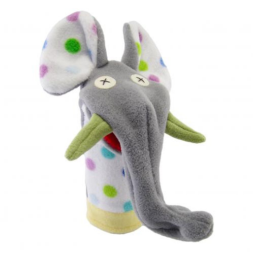 Softy Party Elephant Hand Puppet