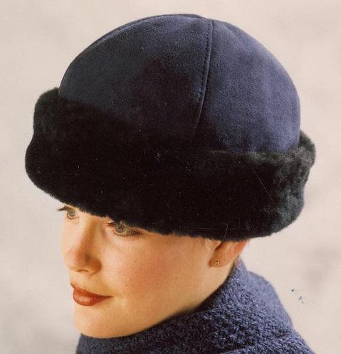 Classic Sheepskin Hat - Navy