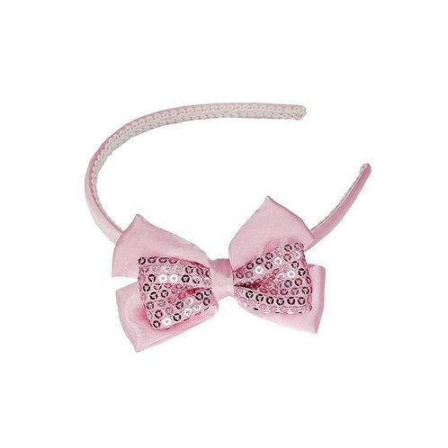 Great Pretenders Posh Paris Sequins Headband pink
