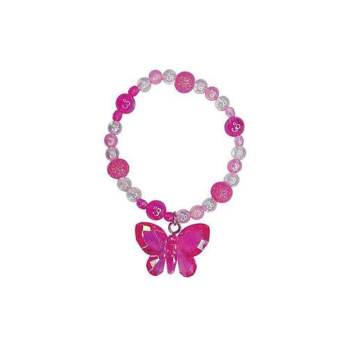 Great Pretenders Fancy Flutter Bracelet magenta