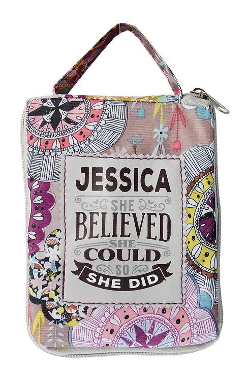 Fab Girl Reusable Tote Bag - Jessica