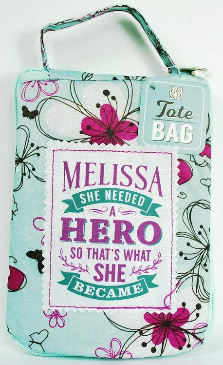 Fab Girl Reusable Tote Bag - Melissa