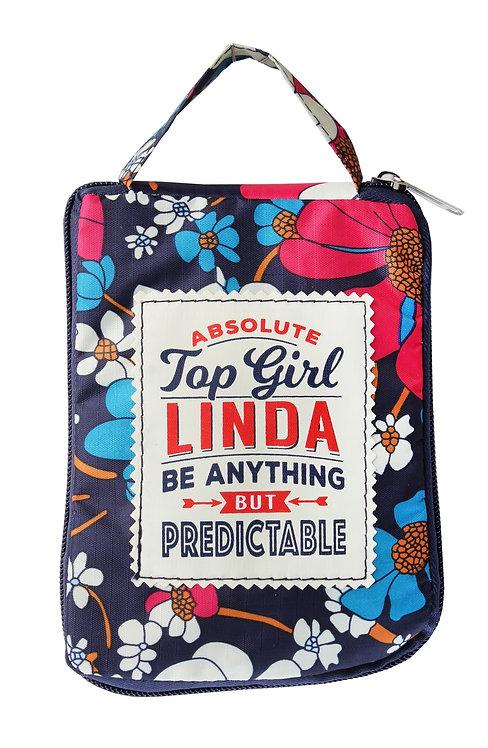 Fab Girl Reusable Tote Bag - Linda