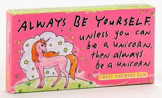 Always Be a Unicorn Gum