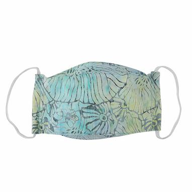 Batik Seafoam -  Reusable Cloth Protective Mask