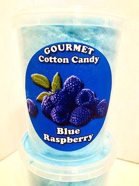 Blue Raspberry Gourmet Cotton Candy