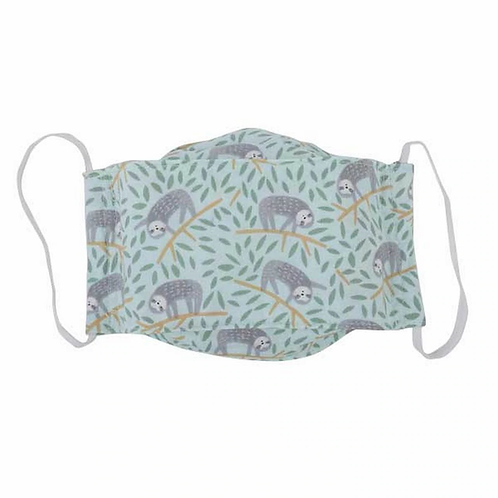 Sloth - Kids Reusable Cloth Mask