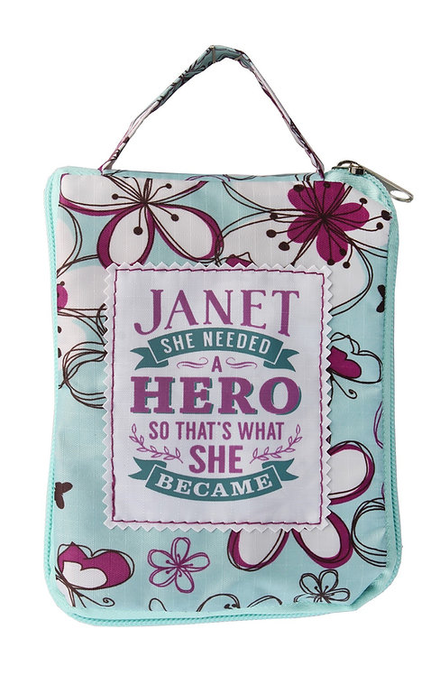 Fab Girl Reusable Tote Bag - Janet