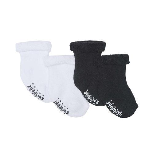 Black & White 2-pack Infant Socks