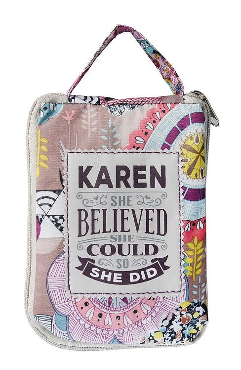 Fab Girl Reusable Tote Bag - Karen