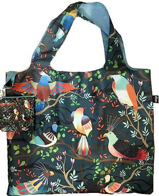 Birds Reusable Tote Bag