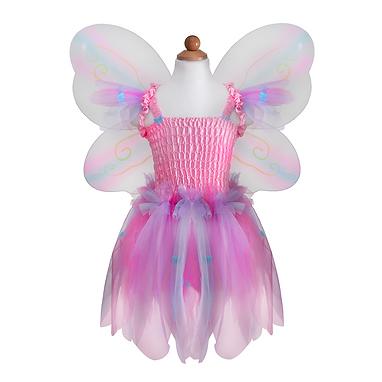 Butterfly Dress, Wings & Wand Set