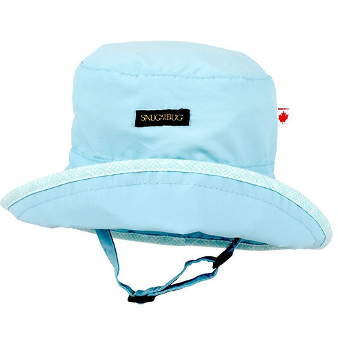 Snug as a Bug Wonder & Dream UPF 50+ Sun Hat, blue front view