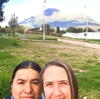 Jill and Jacinto in Ecuador