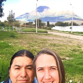 Jill and Jacinto in Ecuador