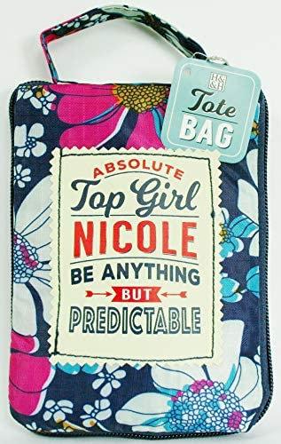 Fab Girl Reusable Tote Bag - Nicole