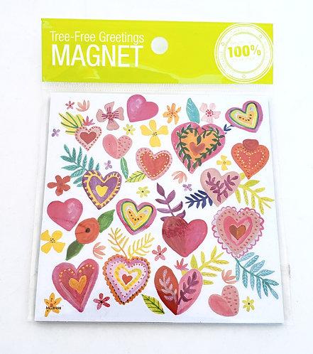 Tree-Free Greetings heart magnet