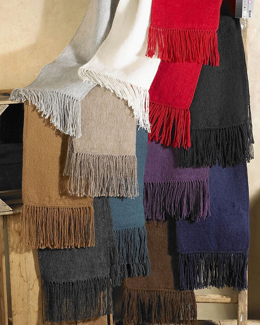 Peruvian Link group of Alpaca Scarf, woven