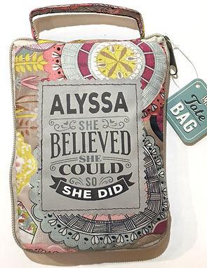 Alyssa - Reusable Tote Bag