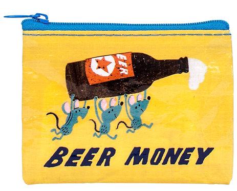 Blue Q Coin Purse - beer money