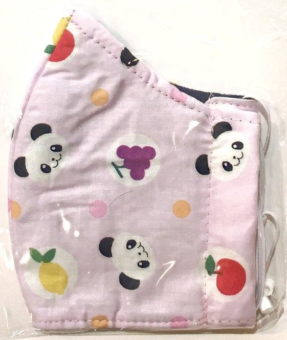 Mauve Pandas - Kids Adjustable Safety Mask