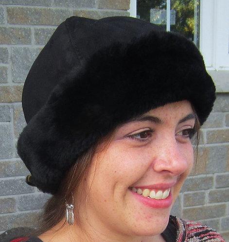 Classic Sheepskin Hat - Black