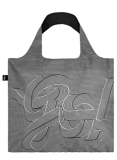 Loqi Reusable Tote Bag - Go Go Go front
