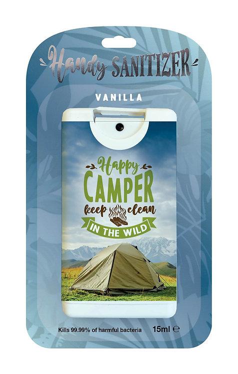 Blue rectangular hand sanitizer packet - Camper