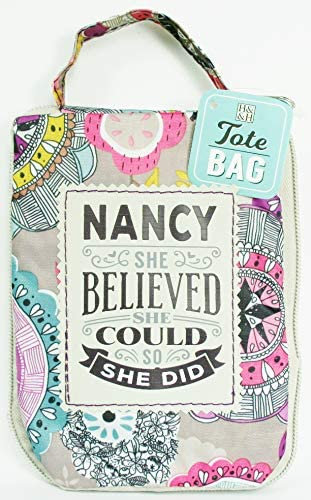 Fab Girl Reusable Tote Bag - Nancy