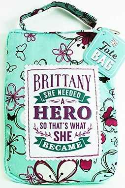 Brittany - Reusable Tote Bag
