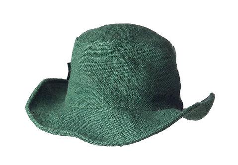 Ark Fair Trade Hemp Wire Rim Hat - Green
