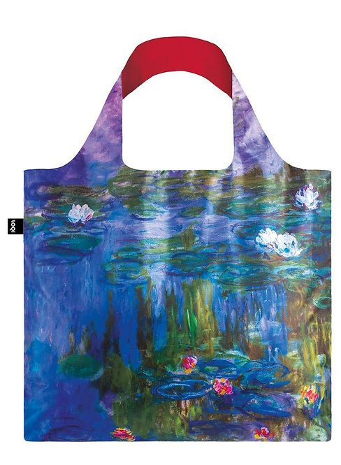 Monet Water Lilies Reusable Tote Bag