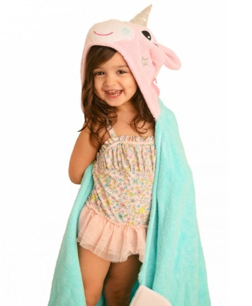 Allie the Alicorn Zoocchini Toddler Towel