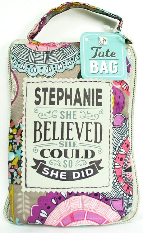 Fab Girl Reusable Tote Bag - Stephanie