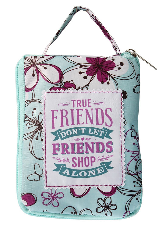 Fab Girl Reusable Tote Bag - True Friends