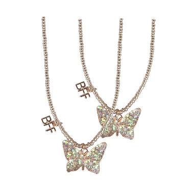 BFF Butterfly Necklace Tear & Share Set