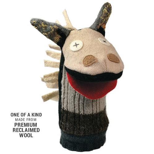 Woolly Horse Hand Puppet
