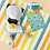 Baby with Flapjack Kids 2 Sided Kids Wet Bag - Gray Zoo
