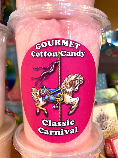 Classic Carnival cotton candy tub